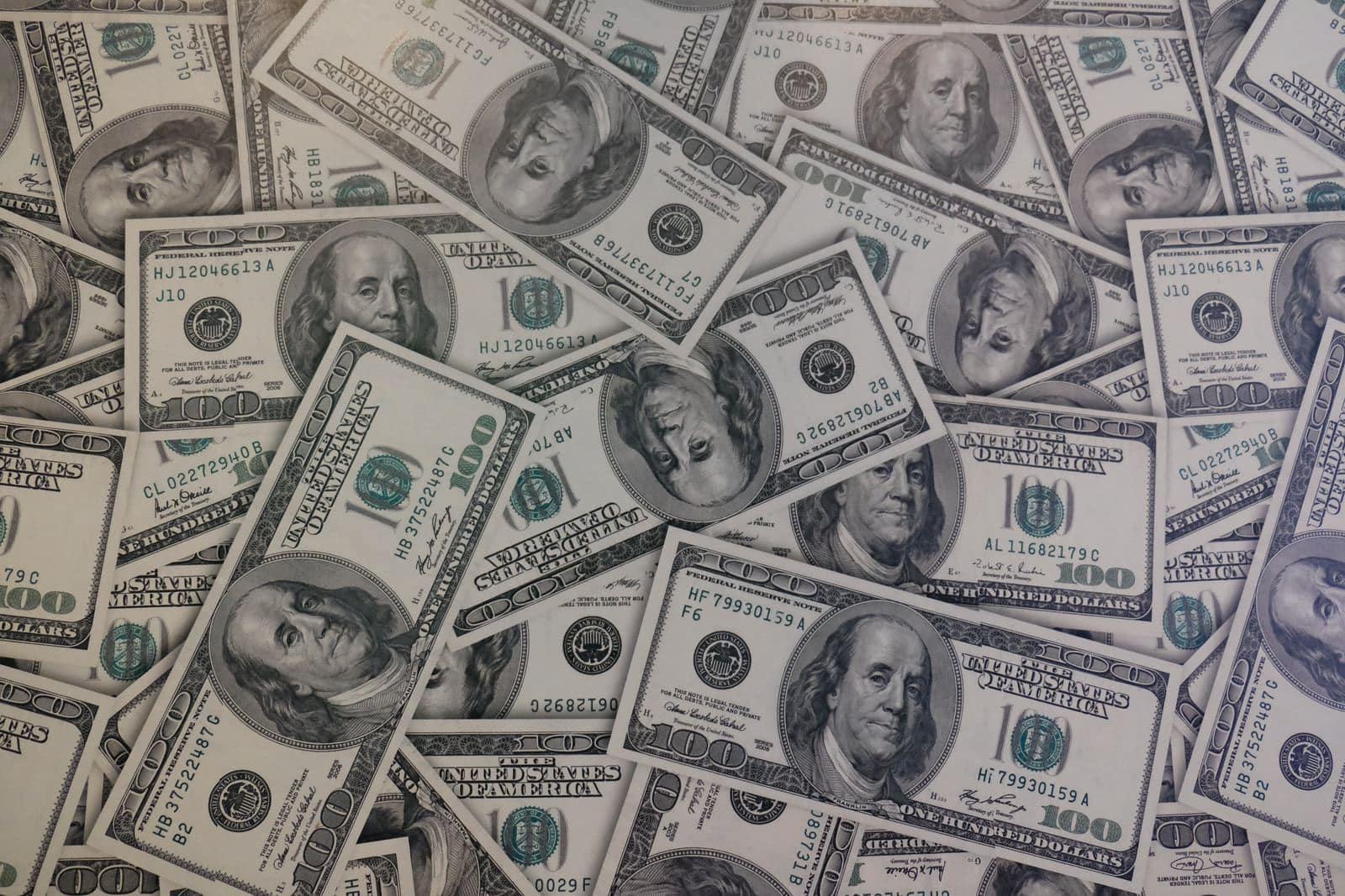 100 U.S. dollar banknote lot